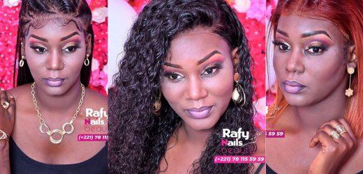 Modéle coiffure: Dior  » Madior ak Dior » pose pour Rafynails Beauty