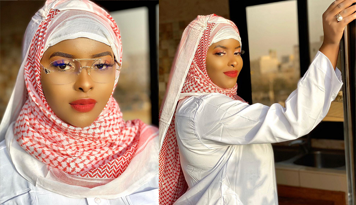 Malgré les déboires de son père, Abiba plus rayonnante que jamais (photos)