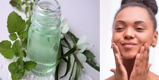 Lotion tonique visage pour clarifier la peau naturellement