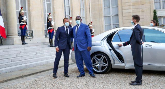 Photos : Les images de la visite du Président Macky en France