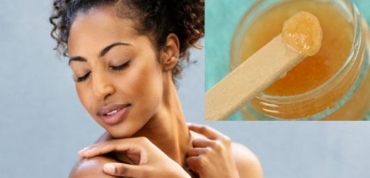 Masque visage contre l'acné miel et huile d'olive