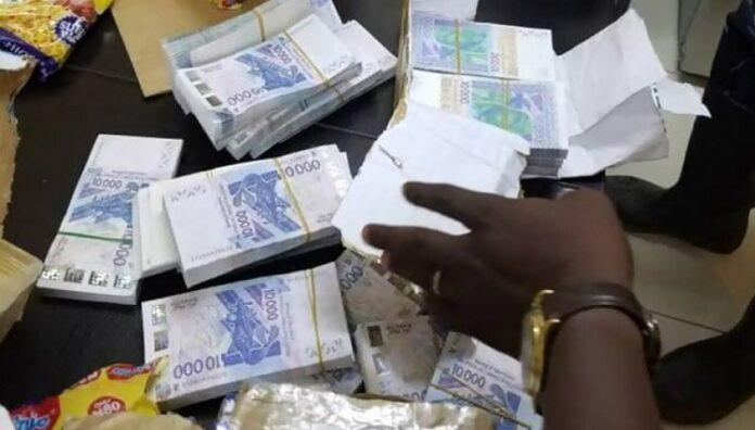 Saisie de 1,3 milliard en faux billets  aux Mamelles