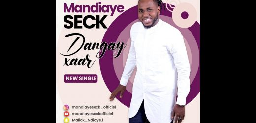 "Mandiaye Seck dévoile son nouveau single ""Danguay Xar"""