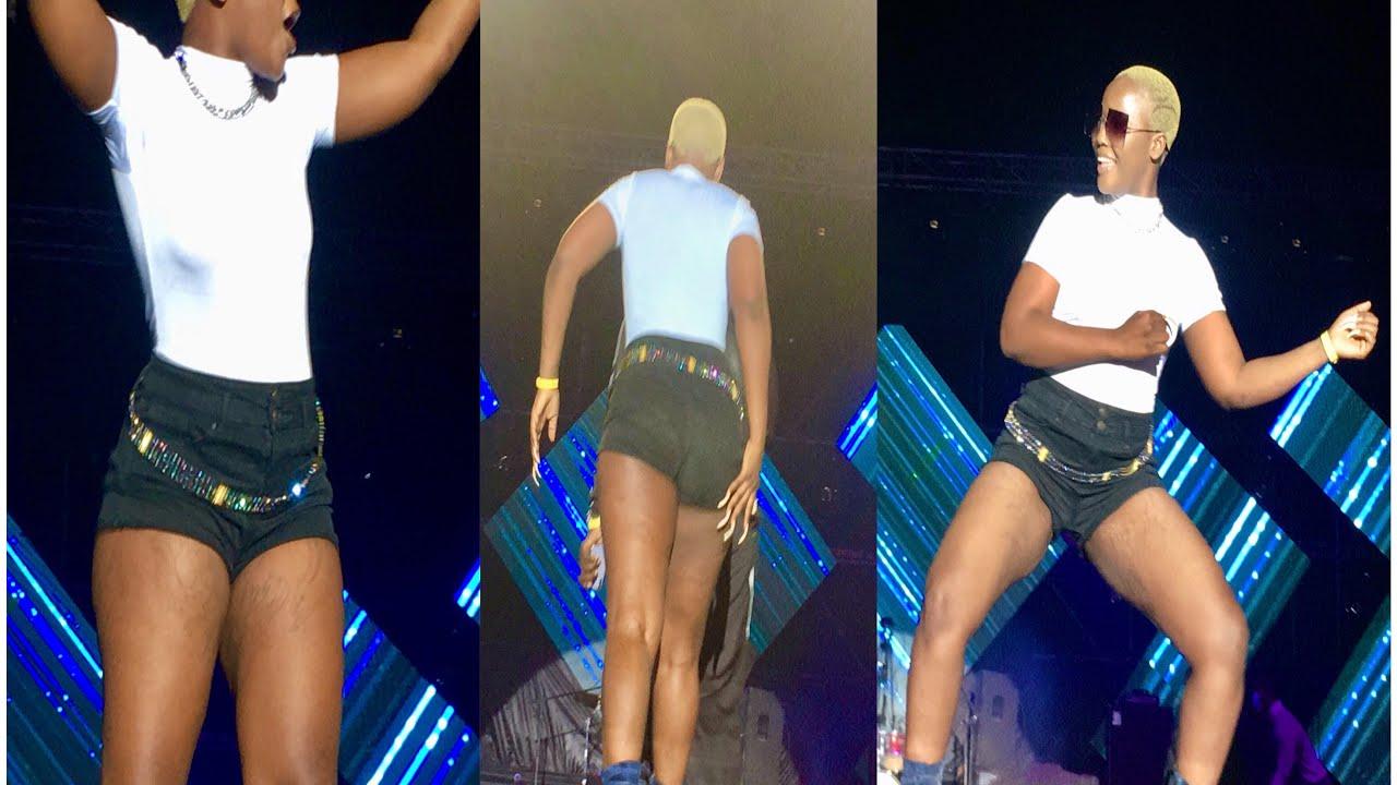 (Vidéo) Concert de Wally en Gambie: Rangou explose la scène !!!