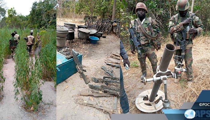 Casamance : L'armée annonce la reprise de toutes les bases rebelles du Front Sud…