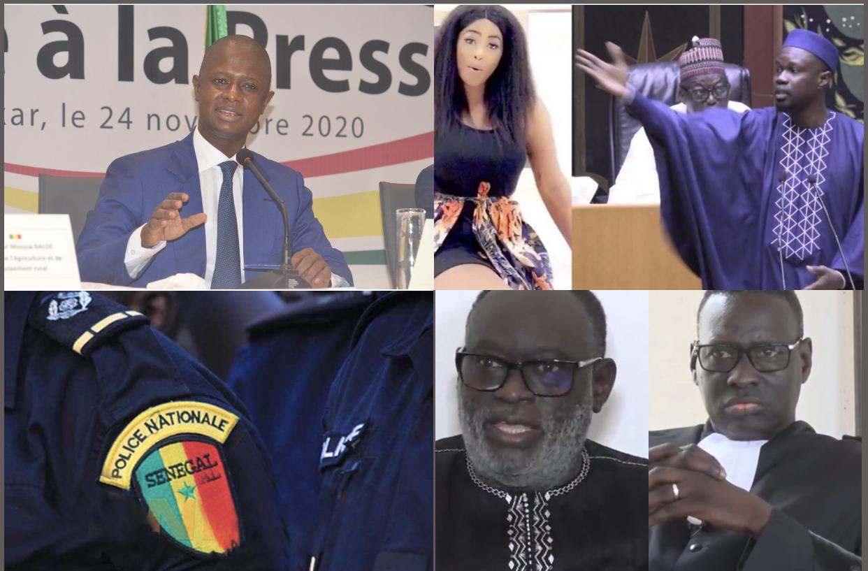 Affaire « Sweet Beauté » : Le ministre de l'intérieur Antoine Diome place Adji Sarr sous protection policière…