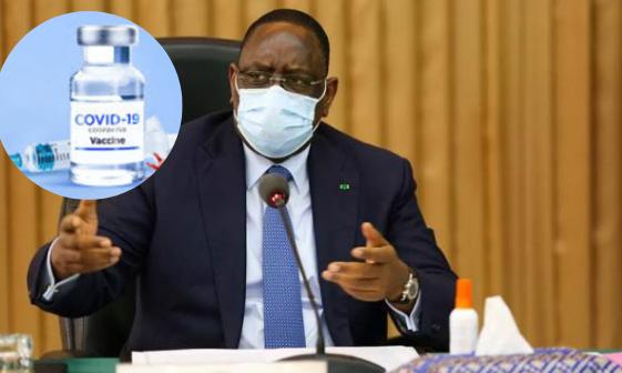 Covid-19 : Macky Sall se fera vacciner parmi les premiers
