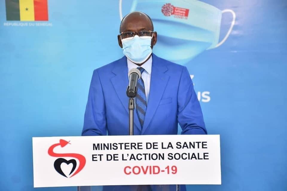 Covid-19 : Le Sénégal enregistre 12 décès et 328 nouvelles infections en 24 heures