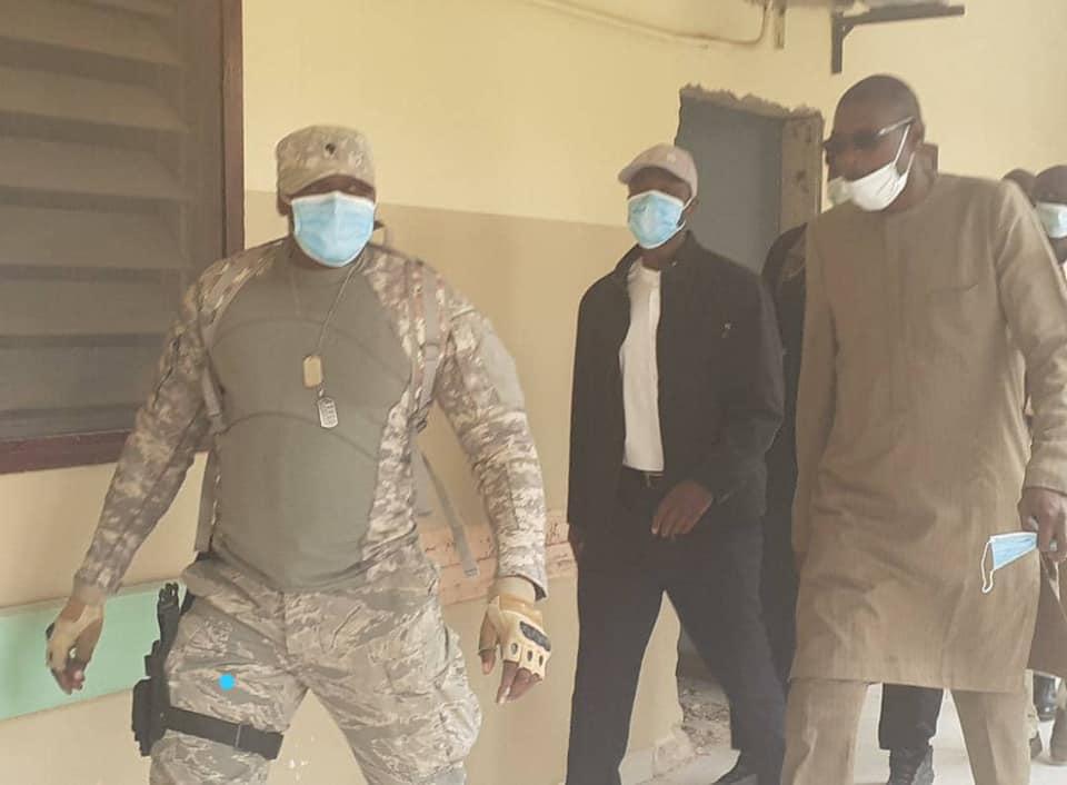 Soutien aux blessés : Ousmane Sonko en visite à l'hôpital de Grand Yoff