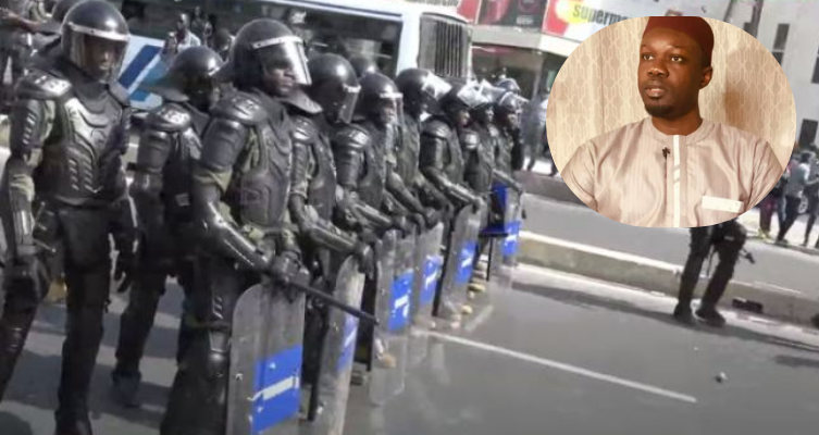 """Ousmane Sonko: """"Personne n'a le droit de me choisir un itinéraire"""""""