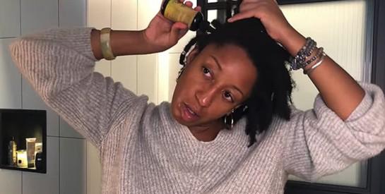 Huile de carapate ou huile de ricin noir pour la pousse des cheveux
