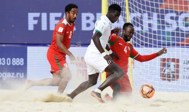 Beach Soccer: Le Sénégal termine la phase de poules par une défaite