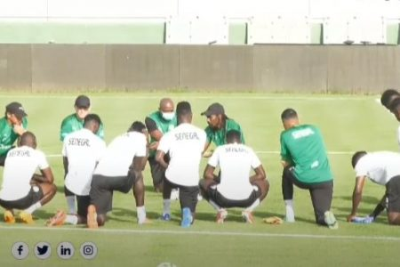 Premier entraînement des Lions avec Sadio Mané, Mendy…(Video)